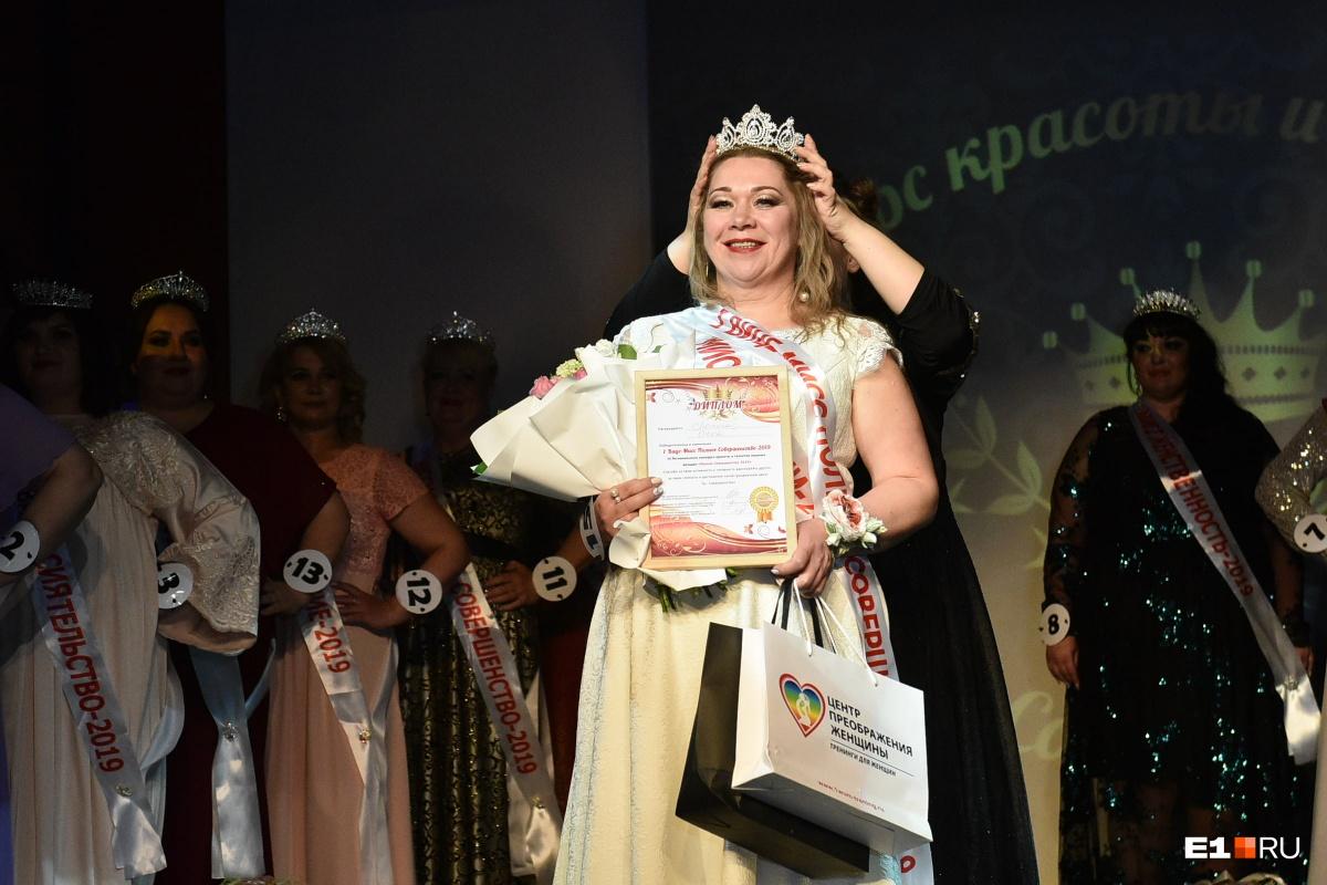 Ольга Лютина заняла второе место