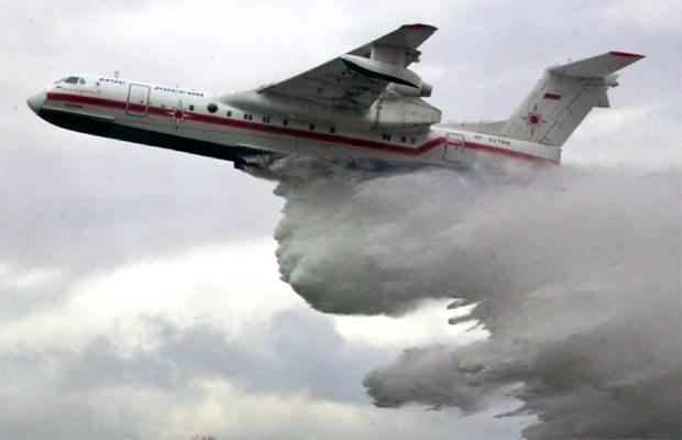 Бе-200 может набирать воду в уральских озёрах