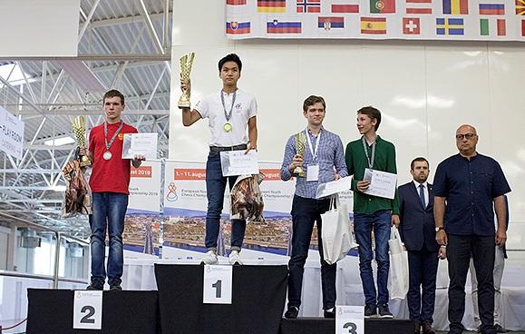 Курганский шахматист завоевал серебро на первенстве Европы