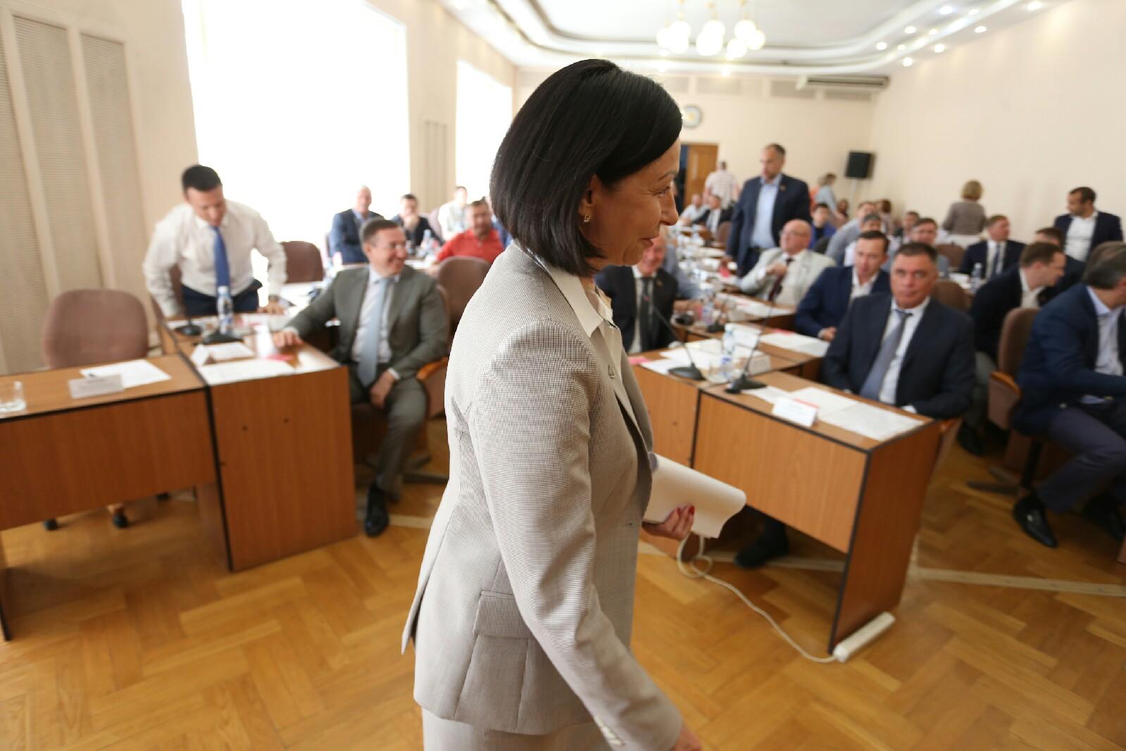 Наталья Котова заявила, что основная задача мэрии — динамичное развитие Челябинска