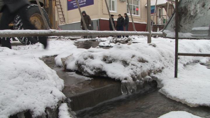 Ночь без воды на Сульфате: где в Архангельске пройдут отключения 12 ноября