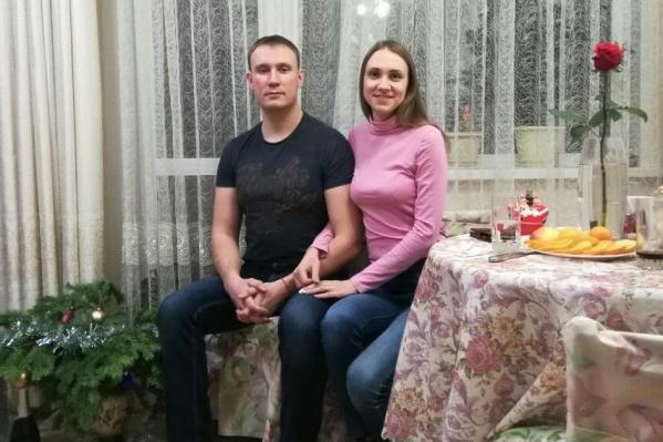 Кирилл Филиппов с женой Александрой