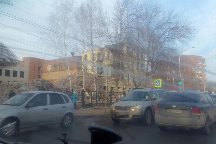 Здание, как оказалось, реконструкции не подлежит