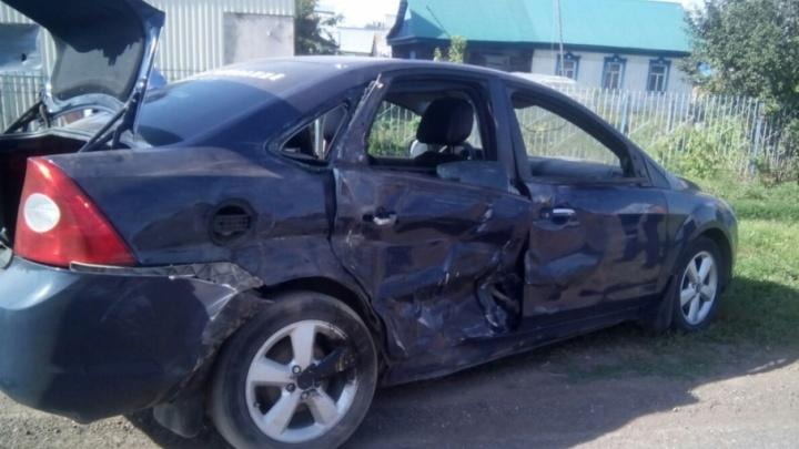 В Башкирии полуторагодовалый ребенок тяжело пострадал в аварии