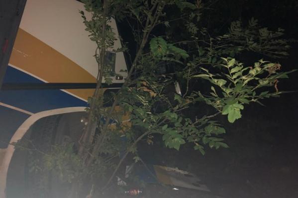 Пассажиры отделались лёгкими травмами