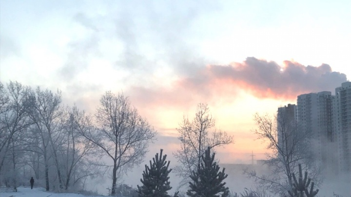 Долгожданное потепление приходит в Красноярск