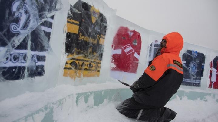 В Уфы выбрали строителей ледовых городков