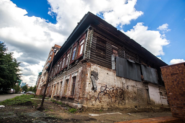 Старинный особняк архитектор предложил наделить общественными функциями: открыть в нём магазины или детский сад