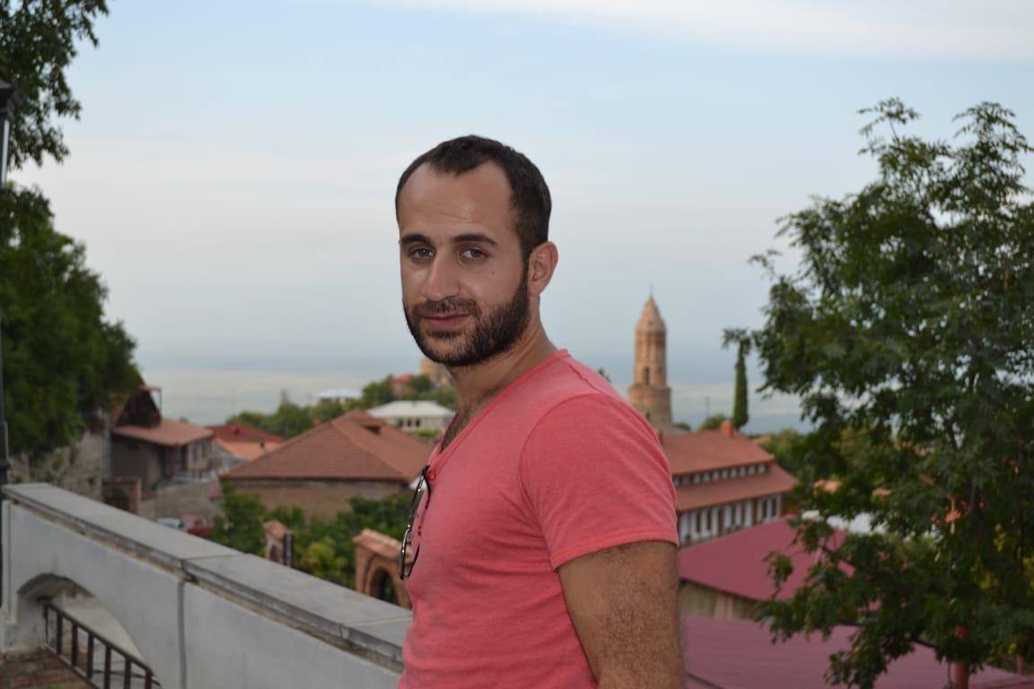 Отари Купатадзе летом в Грузии
