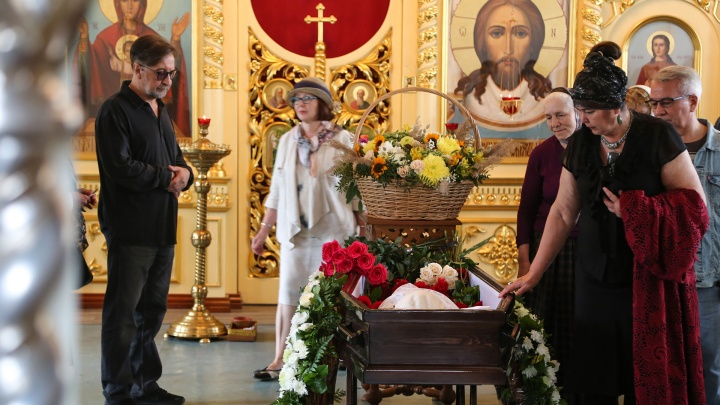 В Уфе простились с мамой Юрия Шевчука Фанией Акрамовной