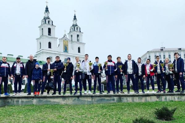 Кроме екатеринбуржцев Свердловскую область представляли каратисты из Режа, но они не заняли призовых мест