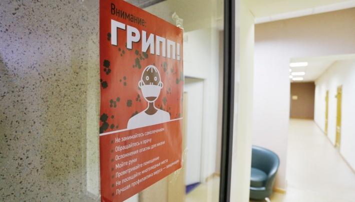 В больницах и соцучреждениях Челябинской области ввели карантин по гриппу