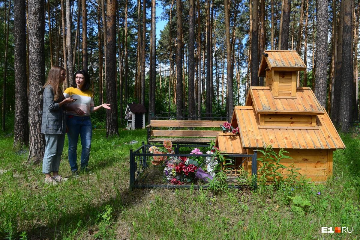 Этот домик построил мужчина для своей любимой собаки. Иногда он ее навещает. Стоимость подобного сооружения — около 10 000 рублей