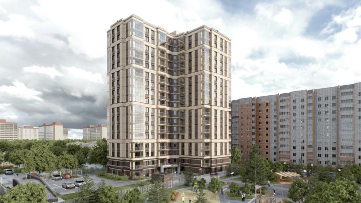 В новом комплексе продают квартиры с террасами от 17 256 рублей в месяц