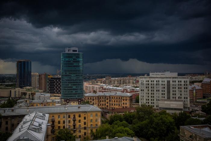 Вечером Новосибирск ждет гроза