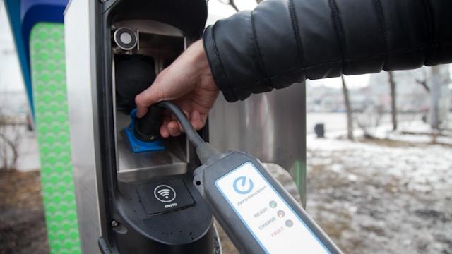 В Красноярске заметили увеличение количества электромобилей почти в два раза
