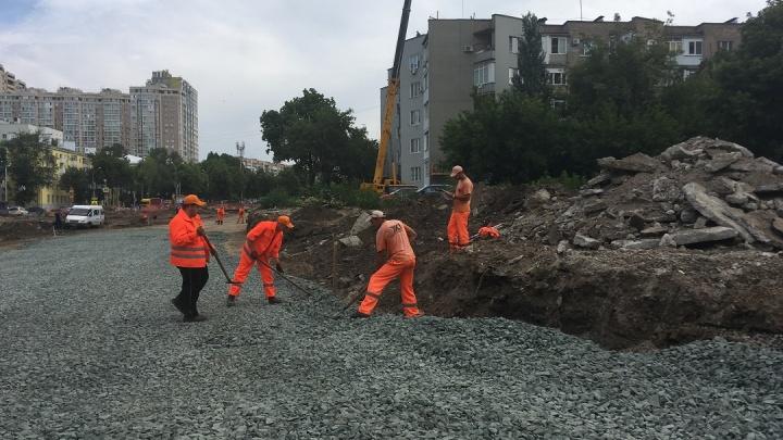 Все дороги ведут к Крымской площади: в мэрии рассказали, когда завершатся строительные работы
