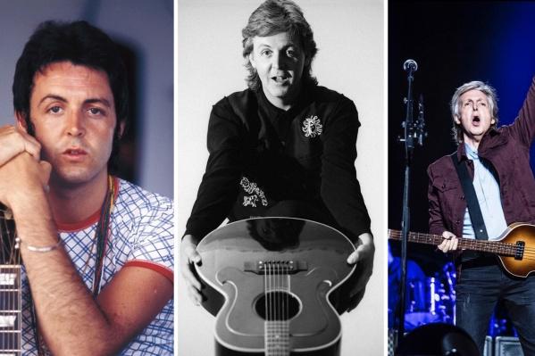 В жизни Пола Маккартни неизменно только одно — любовь к своим гитарам