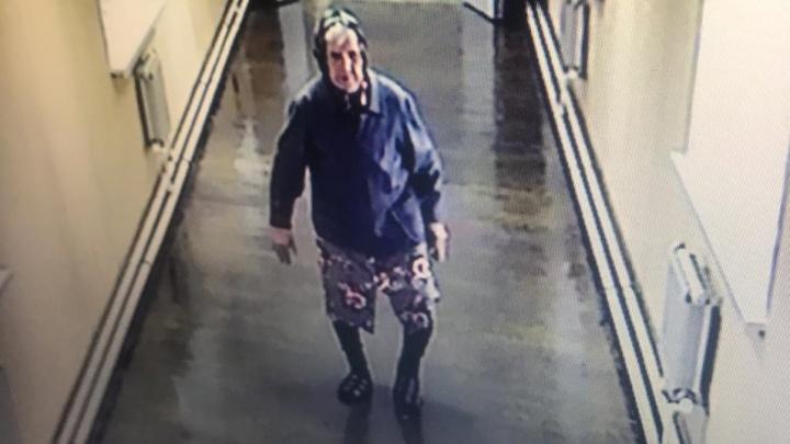 В Первоуральске пропала пенсионерка. Камера сняла, как она уходила из больницы