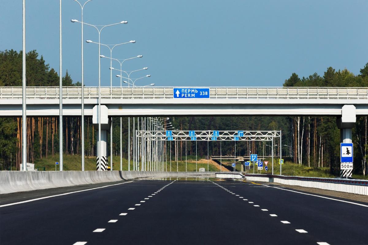 Участок ЕКАДа был отремонтирован в рамках программы «Безопасные и качественные дороги»