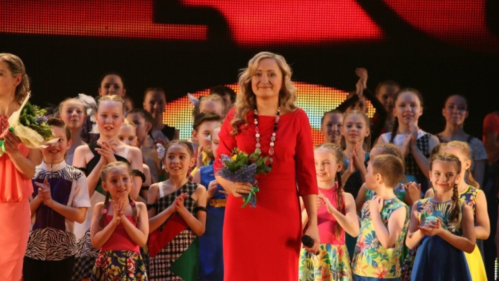 УчительМонеточки поставила номер для спектакля звезды балета Илзе Лиепы