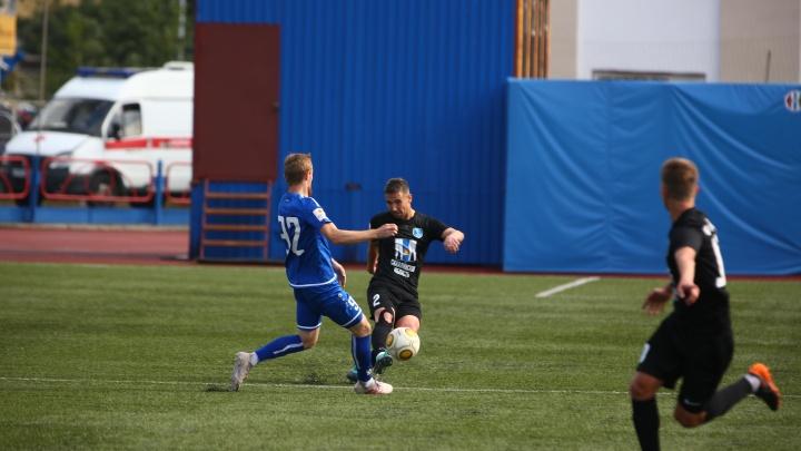 Дома стены помогли: ФК «Новосибирск» выиграл первый матч