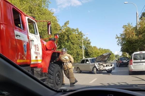 В результате аварии пострадали автомобилистка и ее пассажирка
