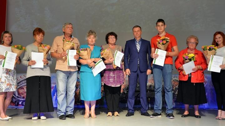 Жители дома в Заозёрном выиграли конкурс на самый лучший двор и приз в 200 тысяч рублей