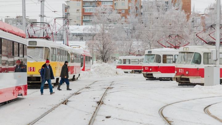 На Ново-Садовой ускорят движение трамваев