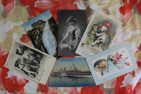 Самой старинной открытке на выставке 117 лет