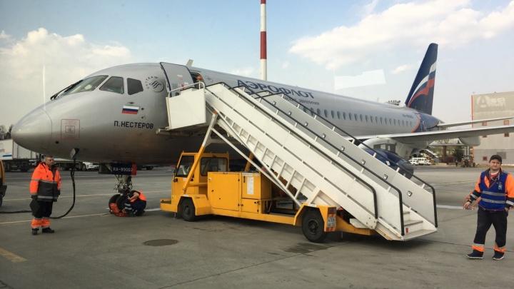 «Аэрофлот» отменил рейс из Москвы в Пермь и обратно на Sukhoi Superjet