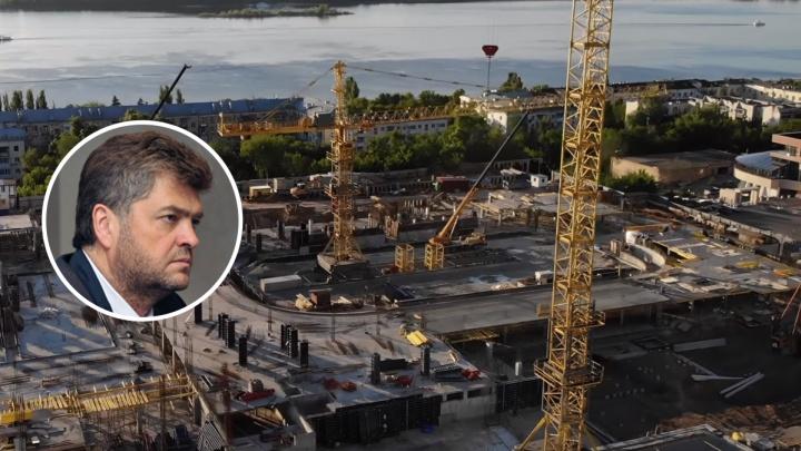Достройку дворца спорта на Молодогвардейской доверили структуре бизнесмена Сонина