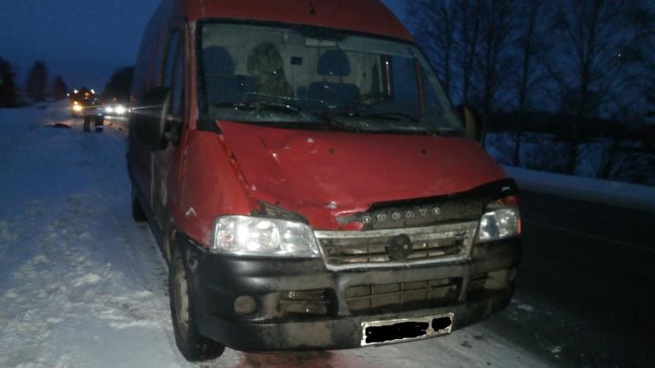 На трассе Пермь — Екатеринбург насмерть сбили пенсионерку