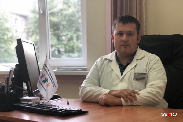О состоянии детей 59.RU рассказалзаместитель главного врача по хирургической части Игорь Тюнягин