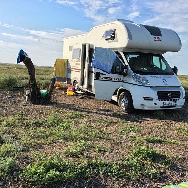 А это фото было сделано во время путешествии Дарьи в Казахстан