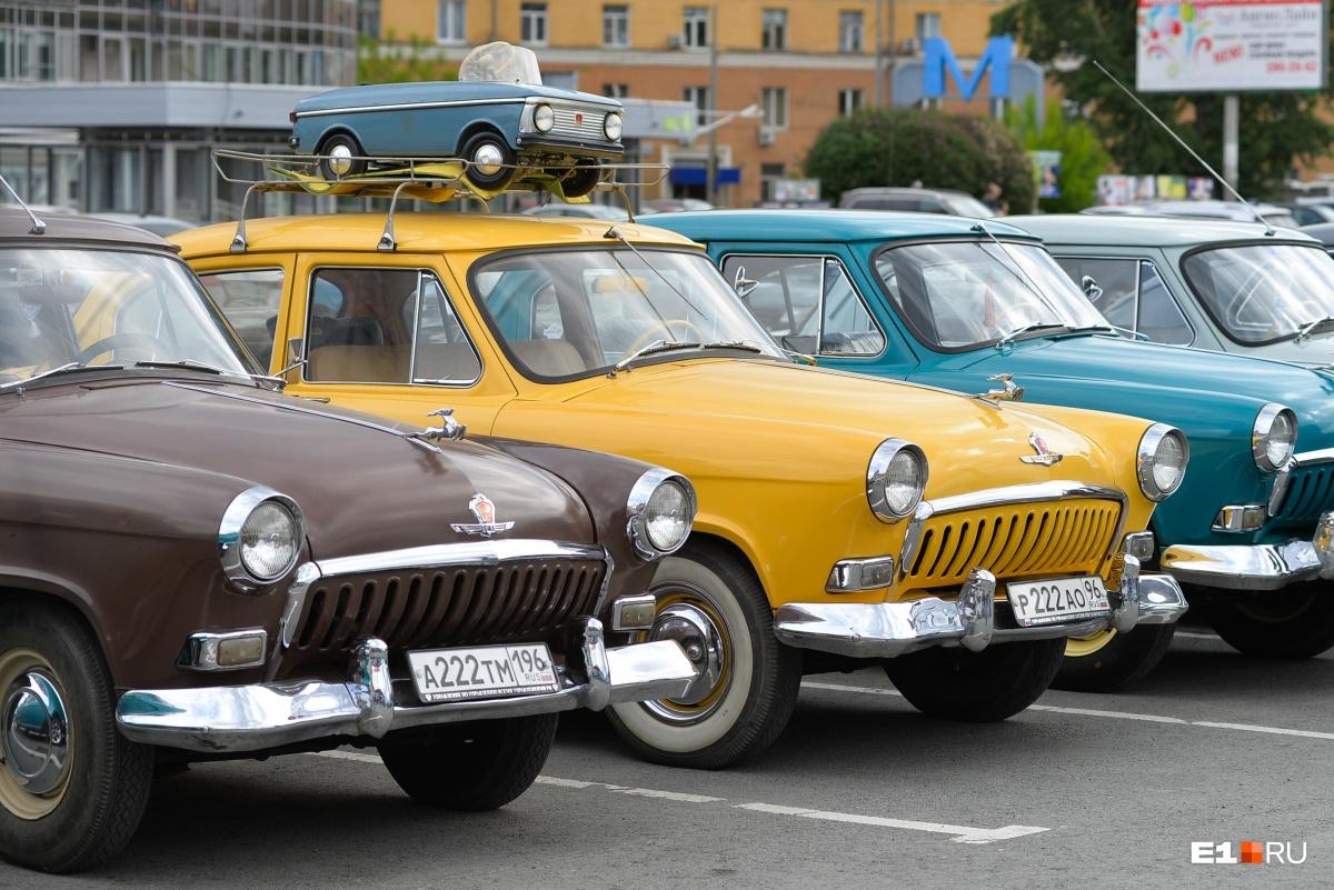 В День города на площади можно будет посмотреть на старенькие автомобили