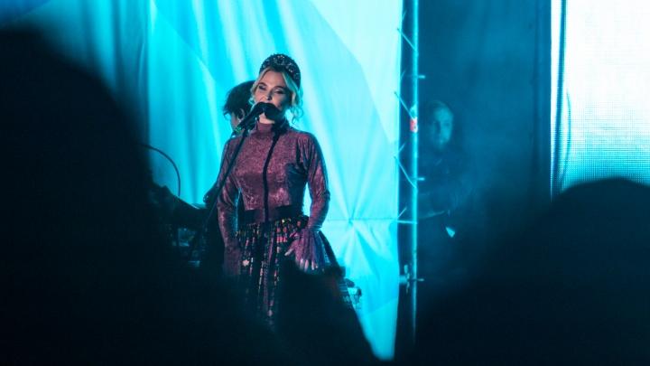 Пелагея выступила на концерте в честь юбилея Новосибирской области