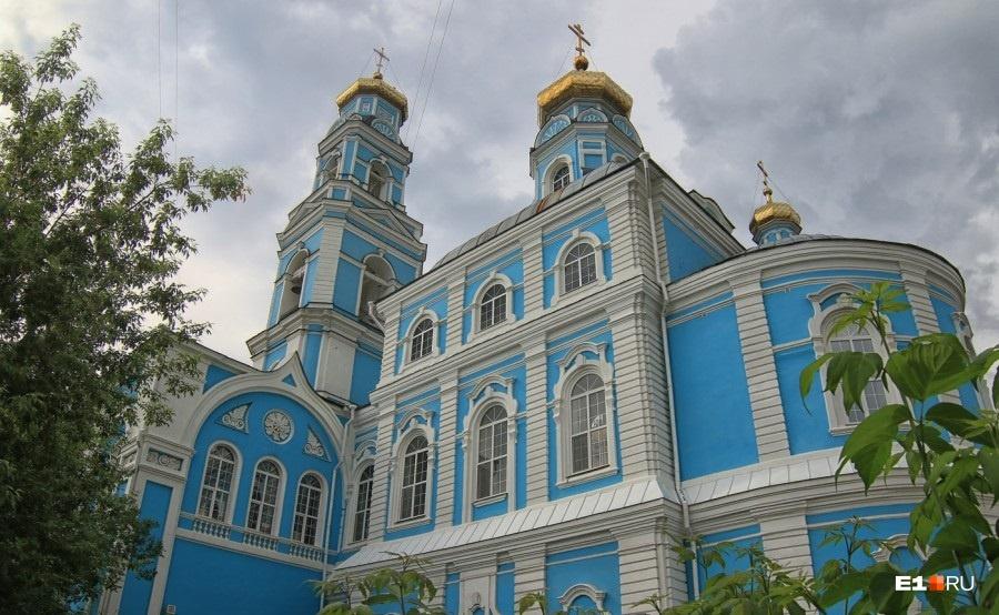 Единственная в Екатеринбурге церковь в стиле барокко