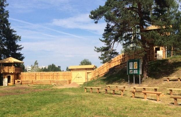 В Ильинско-Подомском на месте старинного городища открыли парк отдыха