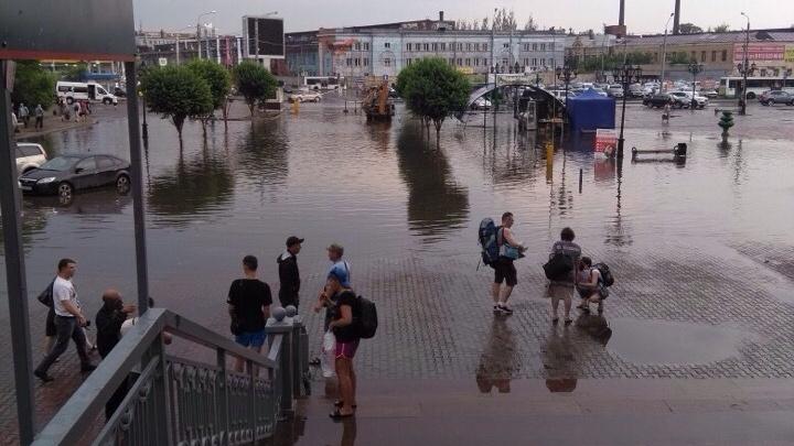 Восемь улиц в Красноярске, которые затопило за час дождя