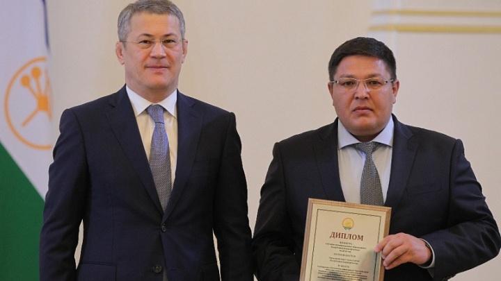 Мэра Сибая, который назвал жителей города нехорошими словами, наградил Радий Хабиров