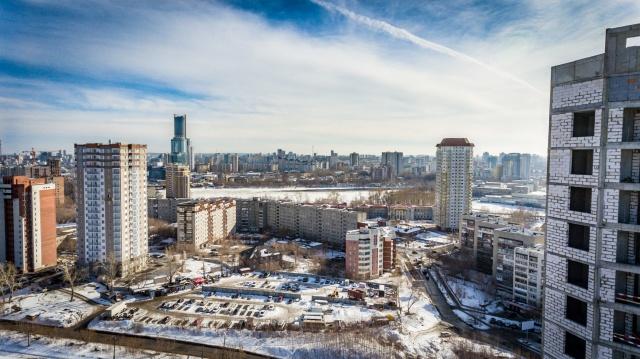 С высоких этажей ЖК «Стрелки» открывается вид на центр города