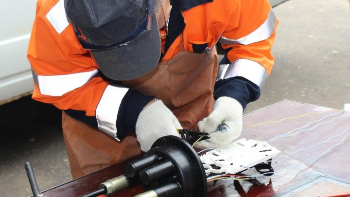 «Ростелеком» проложил 160 км оптики к объектам теле- и радиовещательной сети в Ярославской области