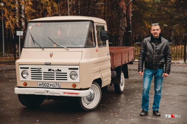 Польский «Жук» оказался редким экземпляром. Тюменцу пришлось ехать за ним в Челябинск