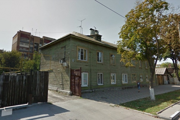Сейчас вдоль Вилоновской стоят деревянные домишки