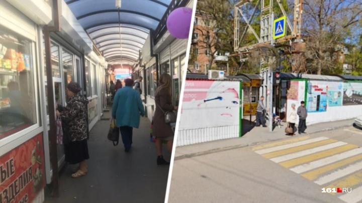 Ростовские власти заявили, что не будут сносить рынок «Спектр». Но тут есть нюанс