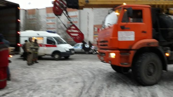 В Рыбинске автокран сбил 72-летнюю пенсионерку