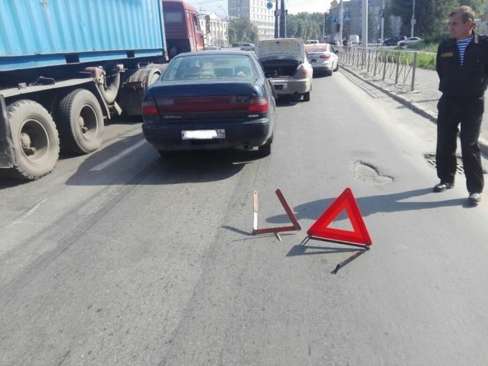 Люди в аварии не пострадали