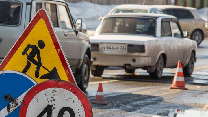 Под Новосибирском внезапно перекрыли дорогу: водители массово едут через Северный объезд