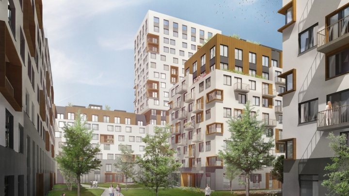 Вместо частного сектора на Эльмаше построят шесть урбан-вилл: что это такое